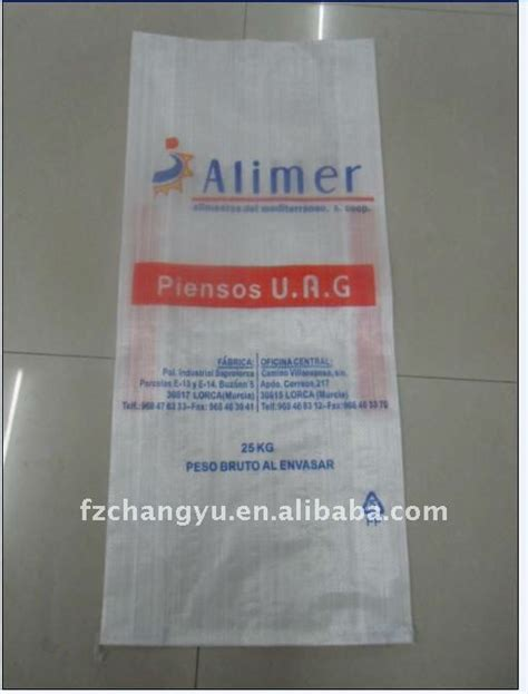 Food Bag White Gp Anti Minyak 2014 pp woven bags for packing products china 2014 pp woven bags for packing supplier