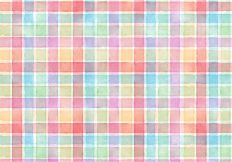 free plaid background pattern free vector watercolor plaid abstract background