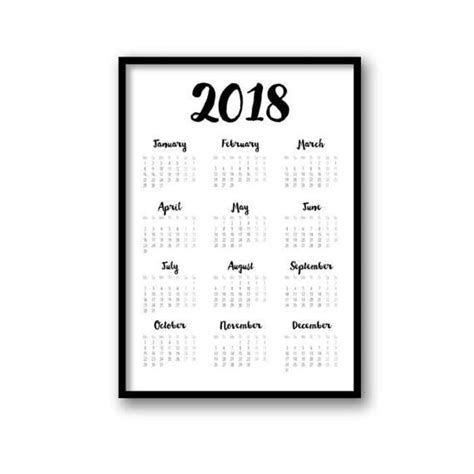 Calendar 2018 Wall India Top 25 Best Calendar 2018 Ideas On Free