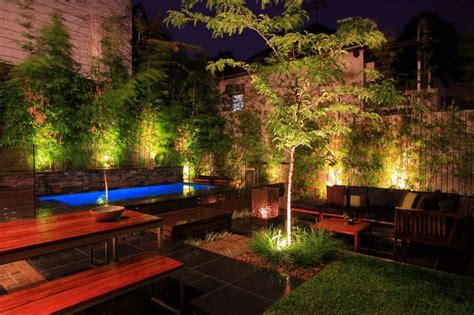 Small Garden Lighting Ideas Landscape Lighting Ideas Gorgeous Lighting To Accentuate The Architecture Of Your Building