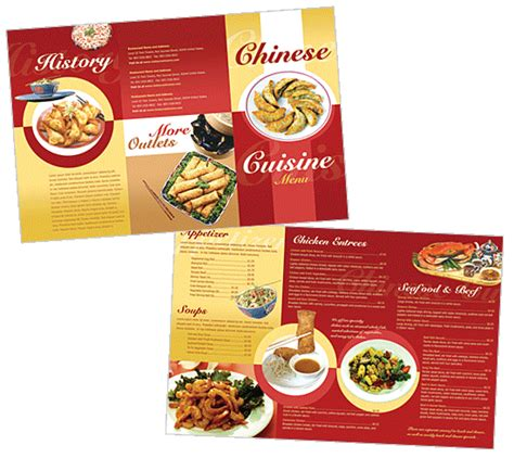 chinese restaurant menu template menu قوائم مطاعم