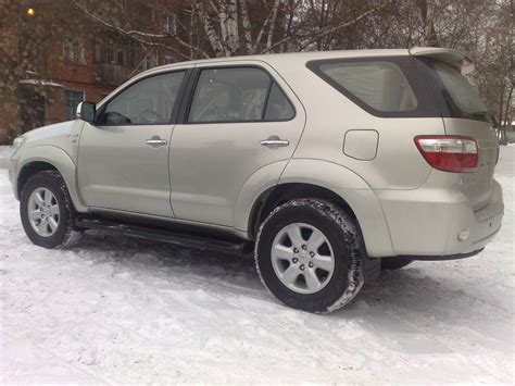 Toyota 2009 For Sale 2009 Toyota Fortuner For Sale 2700cc Gasoline