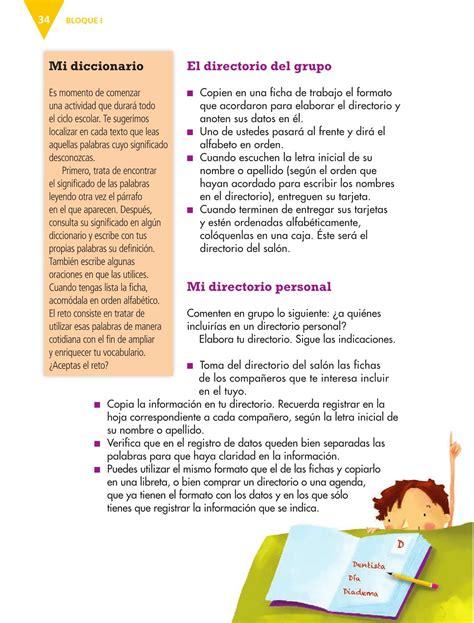 Libro De Tercero De Primaria 2016 2017 Isssu | libro de tercero de primaria 2016 2017 isssu espa 241 ol