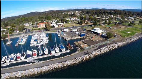 boat mooring batemans bay batemans bay marina redevelopment sails ahead bay post