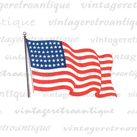 printable american flag clip art american flag digital graphic printable by vintageretroantique