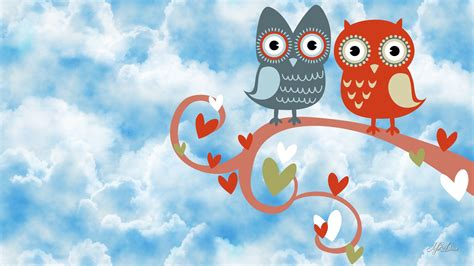 cute valentine hd wallpaper cute owl wallpaper collection for free download