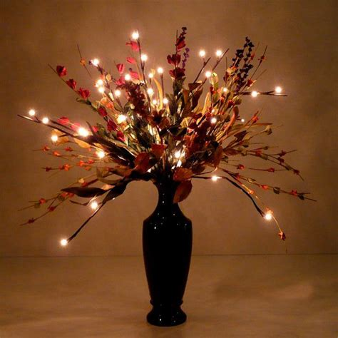 lighted flower centerpieces 13 best images about led branches on seasons white branches and plugs