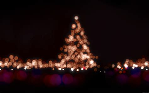 ah38 christmas lights bokeh love dark night