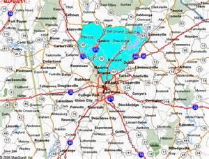 Atlanta Metro Map by Pin Atlanta Metro Map Click Onto Individual Cities To View
