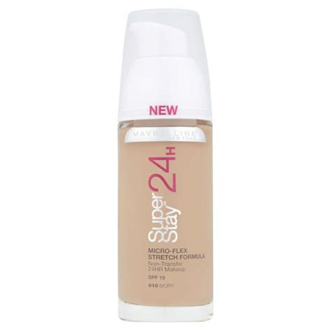 Maybelline Foundation Stay maybelline new york stay 24 hour foundation