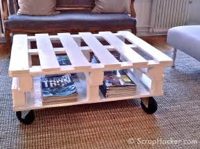 how to make a coffee table out of pallets d i y pallet coffee table tutorial