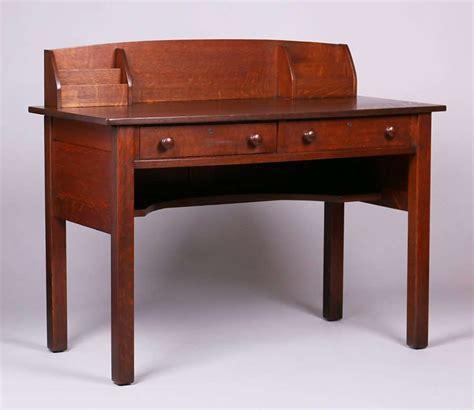 stickley desk l jg stickley postcard desk california historical design