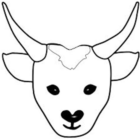 printable antelope mask handa s surprise masks sb976 sparklebox who s in