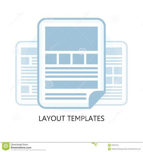 icon design layout flat design layout templates icon