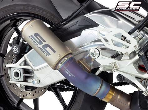 Sc Project Exhaust Yamaha R1 2016 Crt Titanium 1 cr t exhaust with titanium link pipe by sc project b20 t36