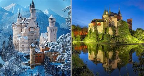 Awesome Architecture by Fairytale Castles That Actually Exist