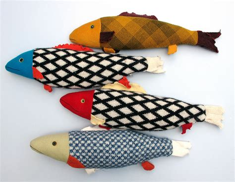 pattern making fish fabric fish crafting for holidays