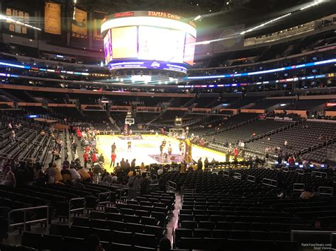section 116 staples center staples center section 116 clippers lakers