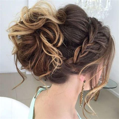 formal hairstyles high bun 40 most delightful prom updos for long hair in 2018 updo