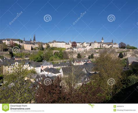 Lu City Z panorama of reflecting city royalty free stock photo