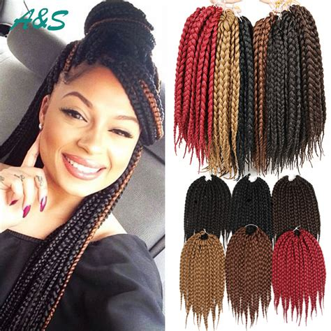 pre dreaded hair extensions african box braids hair crochet hair extensions expression
