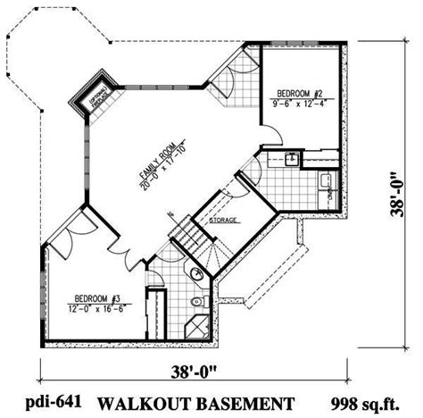 floor plans for lakefront homes lakefront home plans home design 641