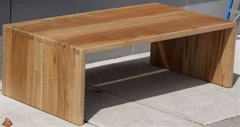 Maple Coffee Tables Dovetailed Spalted Tiger Maple Coffee Table At 1stdibs
