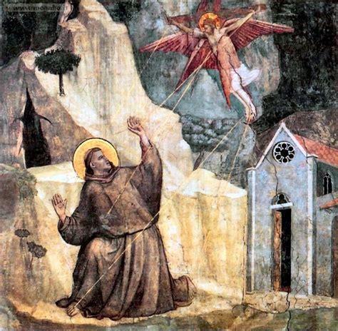 le tre stimmate di impressione delle stimmate di san francesco