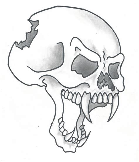 easy skull tattoo designs small skull drawing at getdrawings free for personal