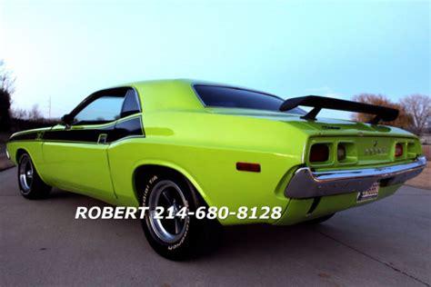 Dodge Challenger 1967 1973 Dodge Challenger Ta Rt Ralley 340 1969 1970 1971 1972