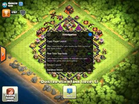 layout coc copy clash of clans copy any player layout youtube