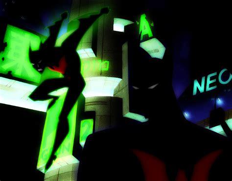 Spider Logo Glow 1 batman beyond tas glow green by bat123spider on