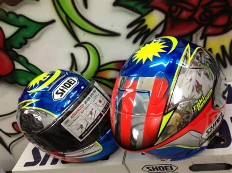 Helmet Shoei Zulfahmi Shoei X12 Zulfahmi 63 Malaysian Moto3 Rider Helmet By Zaki Designs Pictures