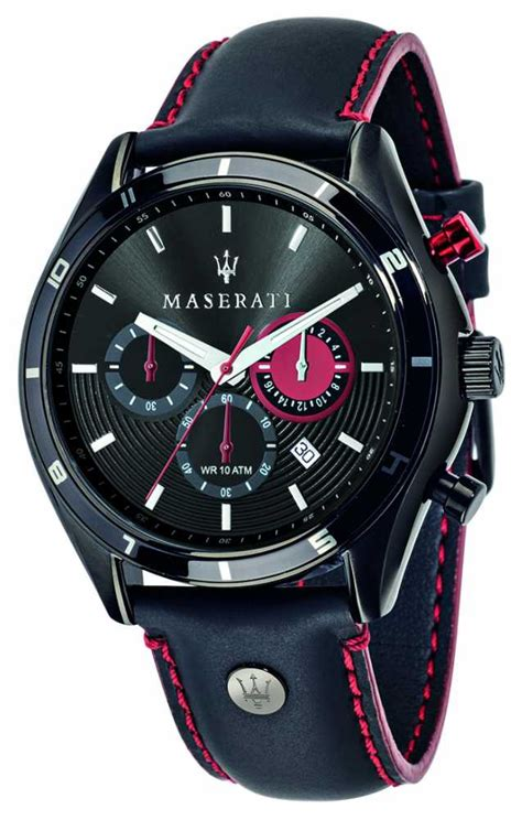 Maserati Sorpasso 45mm Chrono Black Watch R8871624002