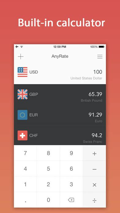 currency converter bca anyrate pro exchange rates currency converter app