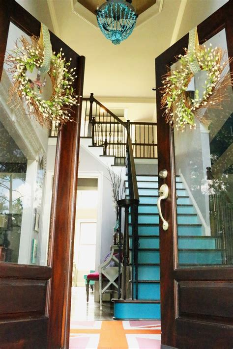 House Color Ideas by Decorative Stair Risers With Designs For All Tastes