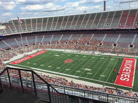 stadium sections ohio stadium section 27d rateyourseats com