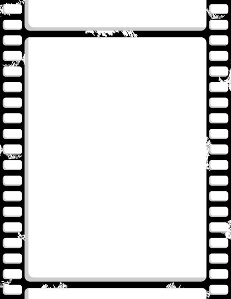 format file film pin by muse printables on page borders and border clip art