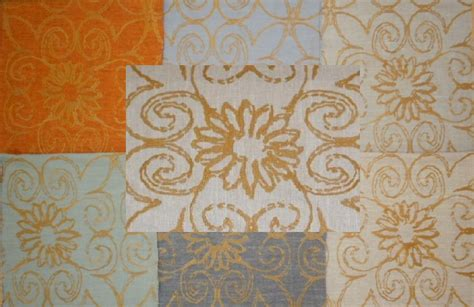 coordinating fabrics for home decor coordinating gold embroidered and plain solid fabrics