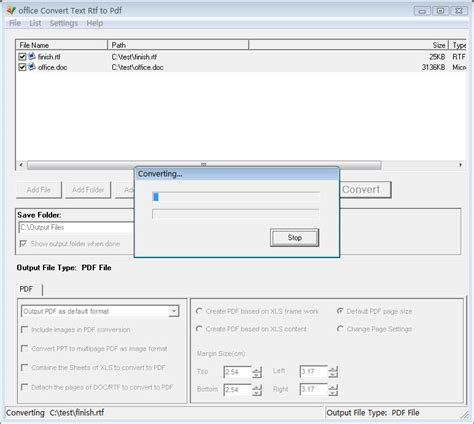 convert pdf to word rtf office convert text rtf to pdf full windows 7 screenshot