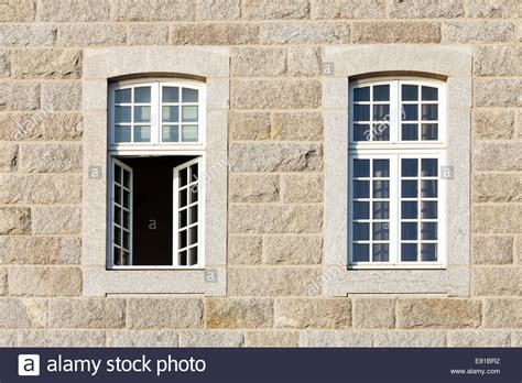 buy house brittany typical facade walls with open windows st malo houses brittany stock photo royalty