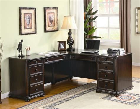 Black U Shaped Desk Black U Shaped Desk For Work Space At Home All About House Design