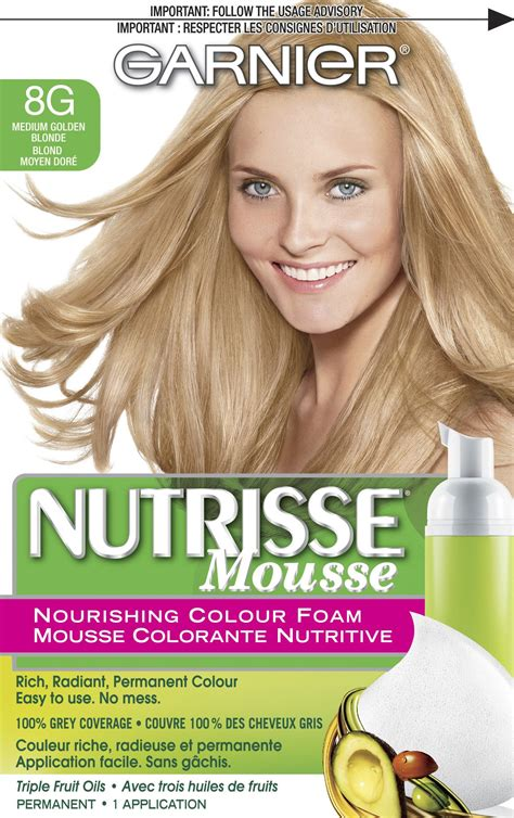 garnier foam hair color garnier nutrisse nourishing color foam