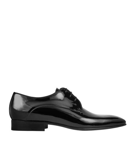 s genuine patent leather formal shoes by moreschi