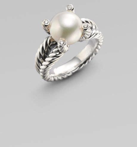 david yurman white freshwater pearl sterling