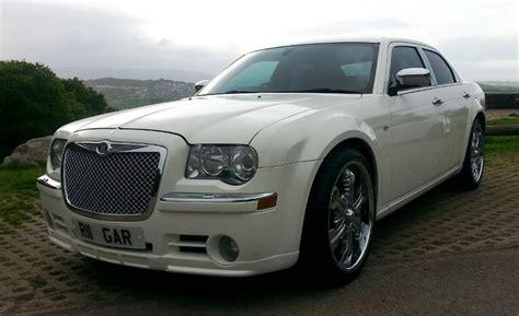 Wedding Car Newport by Chrysler 300 White Chrysler Wedding Car In Newport Gwent