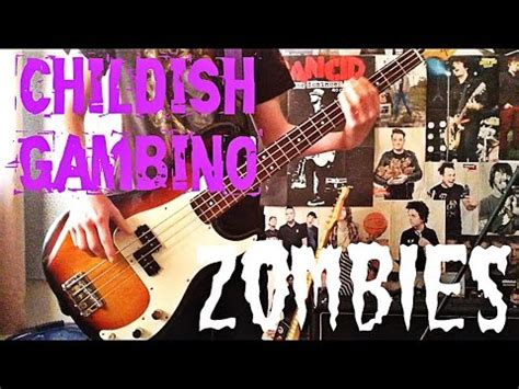 childish gambino zombies download childish gambino zombies bass cover youtube