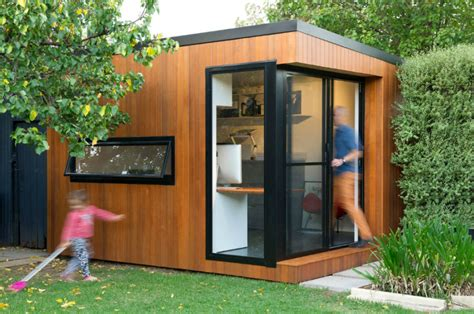build backyard office 21 modern outdoor home office sheds you wouldn t want to leave