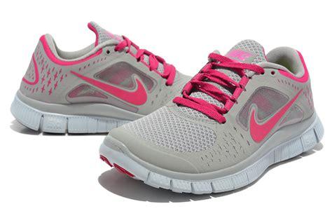 gray pink nike free run 3 5 0 s shoes 70 00
