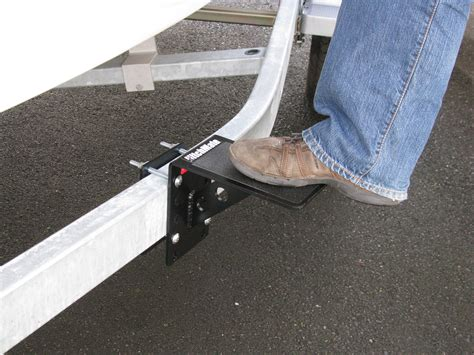 boat trailer step plates trailer step by hitchmate